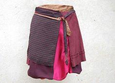 Des jupes portefeuille imprimées de créateur   Chèresloques, créateur de vêtements