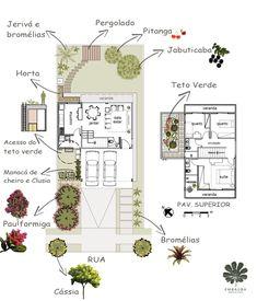 Projeto sobrado Floor Plans, Floor Plan Drawing, House Floor Plans