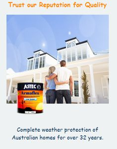 ASTEC Exterior Paints for Tempting Look and Protective Coating of Your House Walls