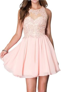 Promgirl House Damen Chic Blau Rosa Weiss A-Linie Spitze Ballkleider Cocktail Abendkleider Blau Dama Dresses, Old Dresses, Quinceanera Dresses, Elegant Dresses, Pretty Dresses, Beautiful Dresses, Girls Dresses, Sparkly Dresses, Grad Dresses Long