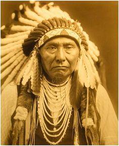 "Edward S. Curtis (American, 1868-1952), \""Chief Joseph\"", taken 1908, printed 2008, contemporary goldtone/orotone"