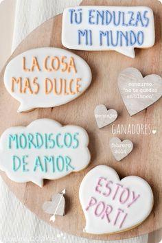 """Caramel Cookie - Concurso Especial San Valentín: """"No te quedes en blanco"""""""