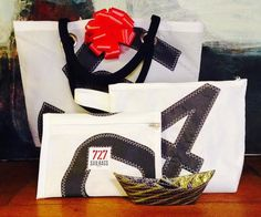 727 sailbags sam tote - and three good stocking stuffer ideas: zip pouch, toiletry case and 'petit bateau' - represented by north37 design in the usa