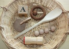 countingcoconuts.blogspot.com Great web site for kid learning ideas. Love these treasure baskets