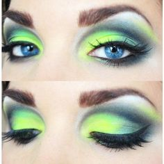 Rainbow Bright Eye Makeup For All Occassions designer swag without the... ❤️ liked on Polyvore