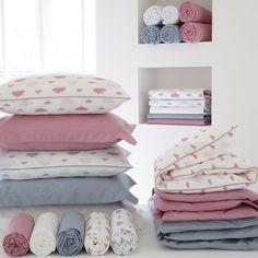 "Capa de edredon puro algodão, cama de bebé, ""dans les nuages"" R Baby | La Redoute"