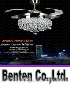 Best%20Invisible%20Crystal%20Light%20Ceiling%20Fans%20Modern%20Led%20Crystal%20Lamp%20Indoor%20Parlor%20Ceiling%20Fans%20Crystal%20Light%20Remote%20Control%20Control%20Llfa11%20Under%20%24510.4%20%7C%20Dhgate.Com Ceiling Fan Chandelier, Crystal Chandelier Lighting, Ceiling Fans, Home Lighting, Modern Lighting, Bedroom Ceiling Fan Light, Living Room Ceiling Fan, Earth Tone Bedroom, Ceiling Fan With Remote