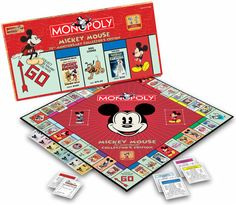 Mickey Mouse And Friends, Mickey Minnie Mouse, Monopoly Game, Monopoly Board, Disney Games, Disney Home Decor, Disney Addict, Family Game Night, Disney Merchandise