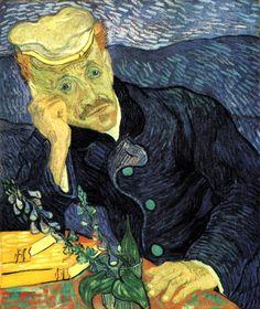 Vincent van Gogh Two versions of Dr. Gachet 1890