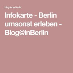 Events Berlin Gratis