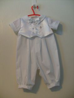 Baby Boy Baptism Outfit by secondtimememories on Etsy https://www.etsy.com/listing/60801137/baby-boy-baptism-outfit