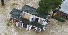 Tufão causa inundações e deixa desaparecidos no Japão - Fotos - UOL Notícias