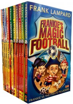 Frankies Magic Football Collection of 10 Books by Frank Lampard  #Football #FootballBook #Frank #Lampard #FrankLampard #Book #ChildrensBook  http://www.snazal.com/frankies-magic-football-frank-lampard-10-books-collection-pa--DEALMAN-U3-FL-10bks.html