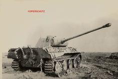ORIGINAL FOTO WK2 PANZER V PANTHER ZIMMERIT TANK 290 in Sammeln & Seltenes, Militaria, 1918-1945   eBay