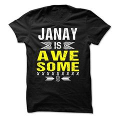 JANAY is Awesome - #gifts for boyfriend #gift for girls. WANT THIS => https://www.sunfrog.com/Names/JANAY-is-Awesome.html?68278