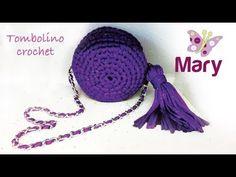 Tombolino all'uncinetto | Mini bag crochet - YouTube