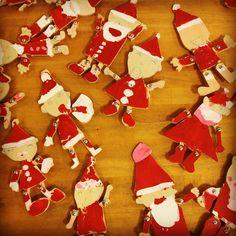 気分だけでもクリスマス #preschool #creation  #christmas #santa #santaclaus