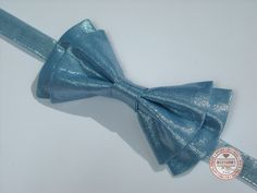 http://accessoriesforstars.blogspot.ro/2015/01/papion-metallic-blue.html #shine #blue #softblue #bowtie #accessoriesforstars #glam #girls