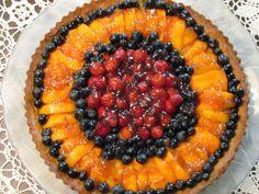 Mille Fiori Favoriti: Almond Fruit Tart