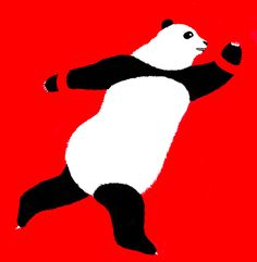 Panda - Tekken Print 8x10 by 2GallowaySisters on Etsy
