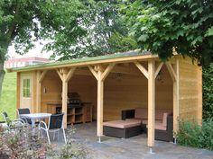 pavillon selber bauen ist für bbq geeignet