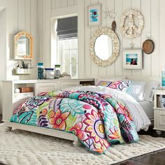 Teenage Girls' Bedding Idea