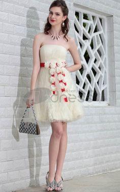 Short Party Dresses-2012 new bridesmaid dresses short paragraph Bra dresses