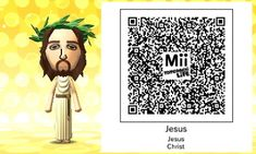 Tomodachi Life QR Codes — Tomodachi Life needs Jesus. Code Lyoko, Bad Memes, Life Memes, Rise Ladies Code, Wii Characters, Picsart, Code Geass Wallpaper, Code Realize, Google Play Codes