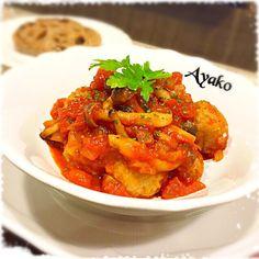 ミートボールは、冷凍でも(*^^*) フライパンひとつで仕上げる、簡単レシピです(o^^o) - 135件のもぐもぐ - ミートボールのトマト煮込み by ayako1015