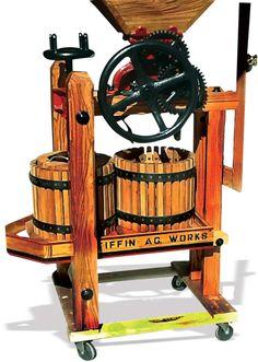 Two Tub Apple Cider Press
