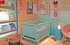 Vem ver um quarto de bebê cheio de inspirações e ideias boas, vem ;-) // + casaecozinha.com
