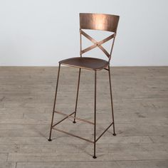 @Overstock.com - Jabalpur Copper Bar Stool (India) - This sturdy copper bar stool features simple design and handcrafted workmanship. This barstool is stackable for convenient storage and includes foot pads to protect floors.  http://www.overstock.com/Worldstock-Fair-Trade/Jabalpur-Copper-Bar-Stool-India/8249740/product.html?CID=214117 $154.99