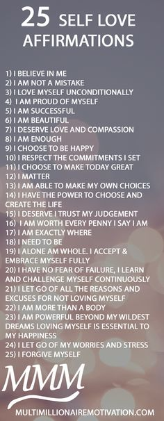 25 self love affirmations for having a better more love filled life. Learn to love yourself. Mantras for self love. Motivation and inspiration for life. self help. Personal and self betterment. Learning To Love Yourself, Love Yourself Quotes, How To Love Yourself, How To Look Confident, Self Love Affirmations, Morning Affirmations, Love Challenge, Self Development, Personal Development