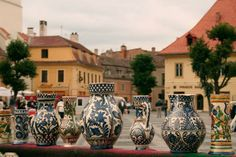 Romanian Pottery Photo by: Camil Ghircoias Places Worth Visiting, Our Planet, Dracula, My Dream, Planets, Beautiful Places, Castle, Pottery, Traditional