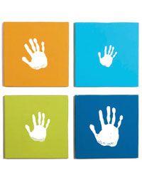 Handprint Wall Art Kit - Blue.