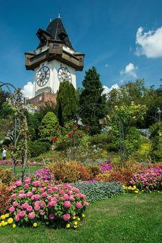 Places Around The World, Around The Worlds, Graz Austria, Heart Of Europe, Big Ben, Clocks, Switzerland, Norway, Beautiful Places