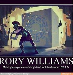 Rory Williams, the best of The Doctor's companions