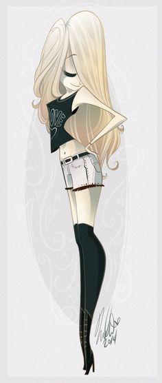 Vivziepop character design