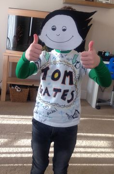 Tom Gates Character Dress Up, Book Character Costumes, World Book Day Costumes, Book Week Costume, Book Characters, Creative Activities, Activities For Kids, Easy Costumes, Costume Ideas