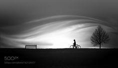 child on bike by nikos-Bantouvakis. @go4fotos
