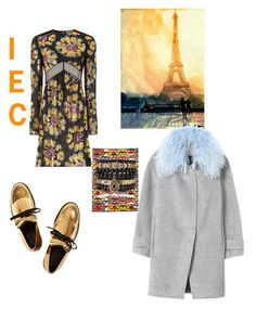 """Happy Tuesday"" by kit92 ❤ liked on Polyvore featuring Burberry, Vlisco, Rebecca Taylor, Samantha Wills and Marni"