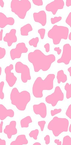 Pink Cow Print Wallpaper 🐮💕