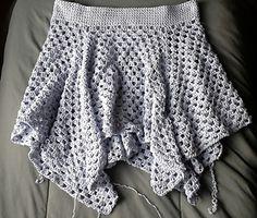 Granny skirt small Tutorial ♡ Teresa Restegui http://www.pinterest.com/teretegui/ ♡
