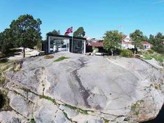 Driv Arkitekter | Bolig Sandefjord House By The Sea, Villa, Mansions, House Styles, Outdoor, Home Decor, Outdoors, Decoration Home, Room Decor