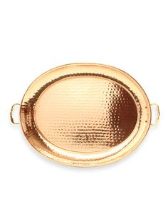 Oval Decor Tray by Old Dutch at Gilt