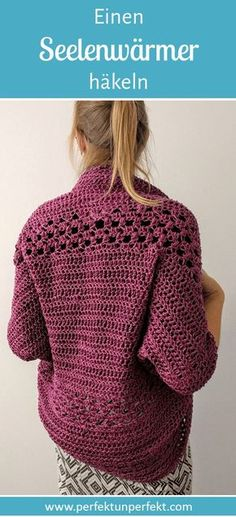 Crochet Cardigan, Knit Crochet, Textiles, Knitting, Creative, Sweaters, Diy, Crafts, Inspiration