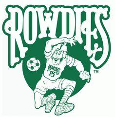 NASL Tampa Bay Rowdies Alternate Logo (1975) -