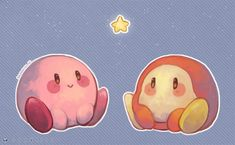 Kirby and Waddle Dee DeviantArt V Games, Cute Games, Videogames, Kirby Character, Character Design, Kirby Games, Kirby Nintendo, Pokemon, Love Is Gone