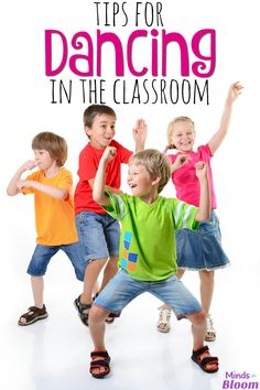Kids love to dance--