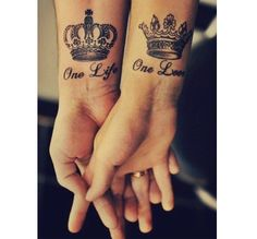 Amazing. I would really live this for me and my boyfriend. But he's not that info getting a tattoo..